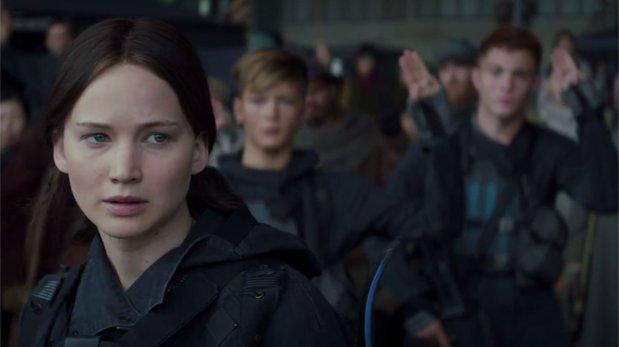 """""""The Hunger Games"""": revelan primer tráiler de """"Sinsajo. P2""""!"""