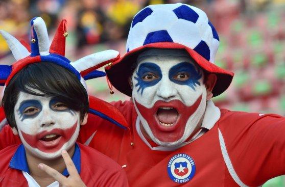 Copa América: así se vive la previa del Chile-Ecuador