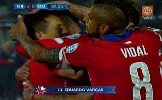 Chile vs. Ecuador: Vargas sentenció duelo tras error norteño