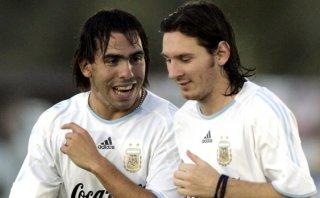 Carlos Tevez y lo que dijo sobre supuesta rivalidad con Messi