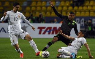 México y Bolivia igualaron 0-0 en mal partido de Copa