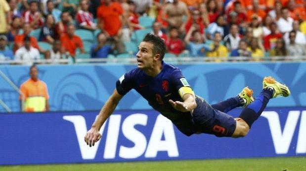 Un día como hoy España cayó 5-1 ante Holanda en Brasil 2014