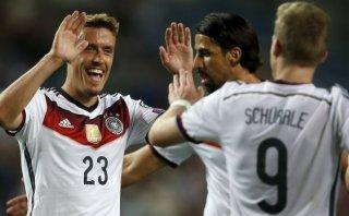 Alemania apabulló 7-0 a Gibraltar por eliminatorias a Eurocopa