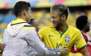 James Rodríguez alabó a Neymar y recordó derrota en mundial