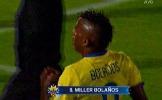 Miller Bolaños anotó golazo desde fuera del área a Bolivia