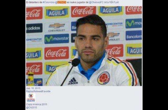 Falcao: Cuadrado y Pekerman confirman su fichaje por Chelsea