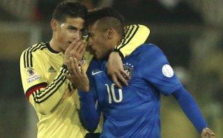 Neymar: ¿Qué le dijo James Rodríguez tras gresca en el final?
