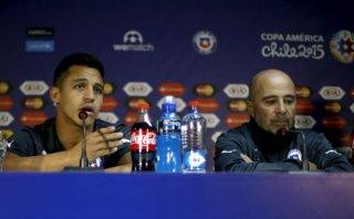 Alexis Sánchez desmintió diferencias con Arturo Vidal