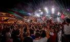 La fiesta interminable en Ibiza, España