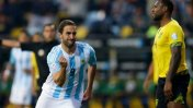 Argentina vs. Jamaica: Higuaín marcó el 1-0 ante los caribeños