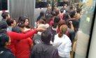 Barranco: vía del Metropolitano bloqueada por padres de familia