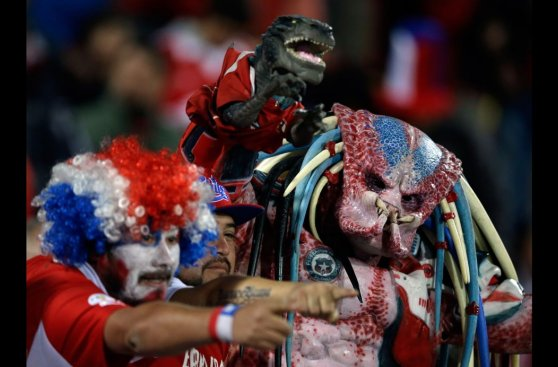 Chile vs. Uruguay: euforia local en duelo de Copa América