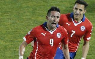 Chile ganó 1-0 a Uruguay y se metió en semis de la Copa América