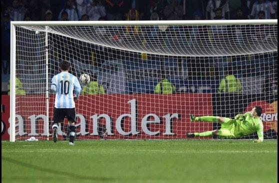 Argentina y la dramática definición por penales (FOTOS)