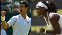 Wimbledon: Djokovic y Williams avanzaron a segunda ronda