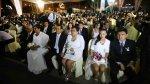 Circuito Mágico del Agua fue escenario de matrimonio masivo - Noticias de pablo villanueva
