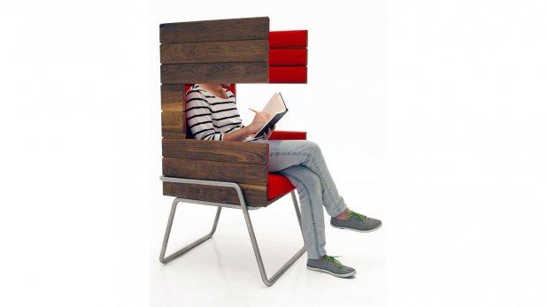 Encuentra la privacidad absoluta en este curioso sillón