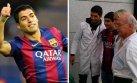 Luis Suárez regaló camiseta de Barcelona a joven con cáncer