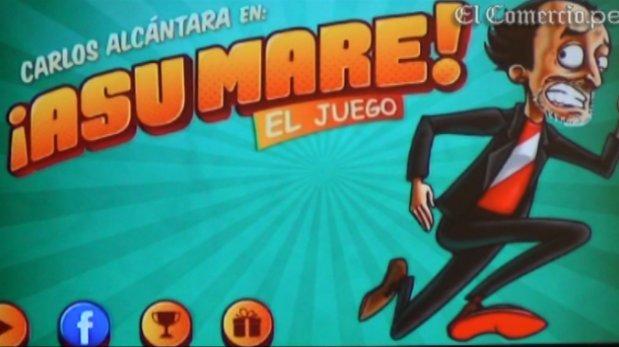 """Carlos Alcántara lanzó juego móvil de """"Asu Mare"""" [VIDEO]"""
