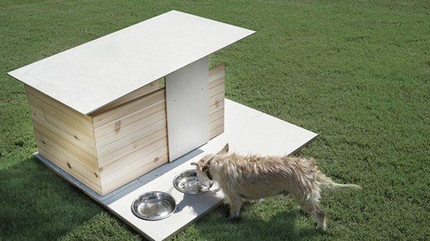 Puphouse, una casa sencilla y muy útil para tu mascota