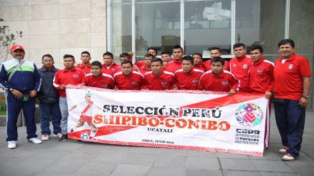 Selección peruana shipibo-conibo se prepara para Copa América