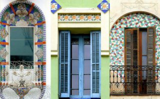 Aprecia el amanecer por estas bellas ventanas de Barcelona
