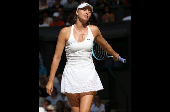Wimbledon: la tristeza de Maria Sharapova tras caer ante Serena