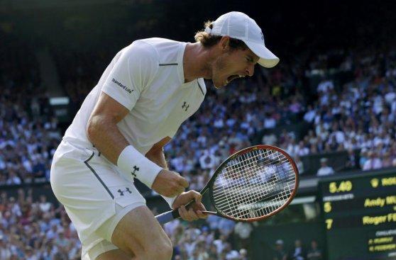 Federer vs. Murray: las imágenes de un partidazo en Wimbledon