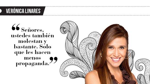 """Verónica Linares: """"Mujer que no joroba"""""""