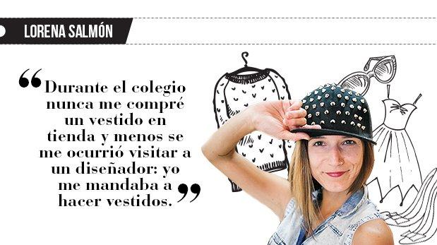 """Lorena Salmón: """"Mujer de costuras"""""""