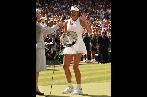 Wimbledon: Muguruza, la bella española que no pudo ante Serena
