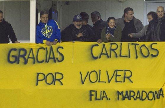 Carlos Tevez: Así fue su recibimiento en la Bombonera (FOTOS)