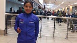 Inés Melchor viajó a Toronto con ilusión de lograr medallas