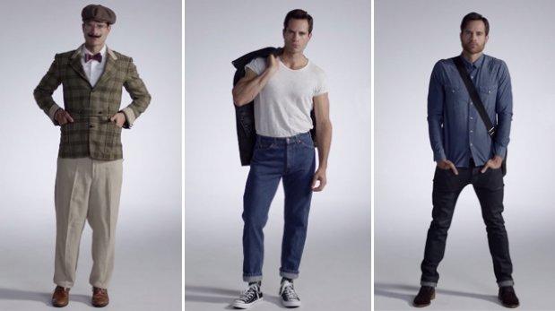 Cien años de cambios en la moda masculina resumidos en un video