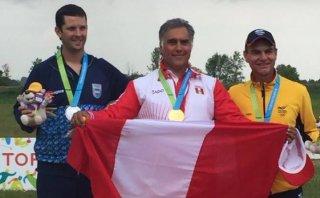 Oro para Perú: Pancho Boza ganó presea en fosa olímpica