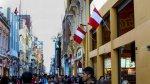 Cercado de Lima: disponen embanderar todos los inmuebles - Noticias de embanderamiento