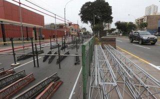 Parada Militar: vías auxiliares de Av. Brasil fueron cerradas