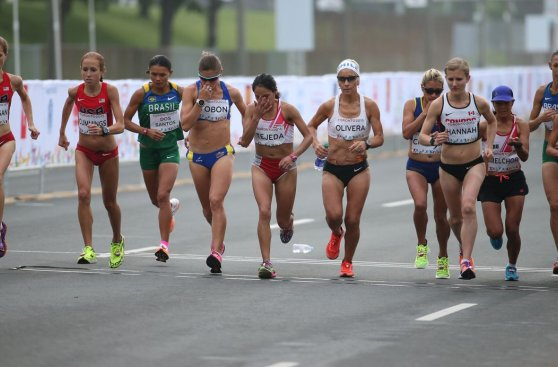 Toronto 2015: las imágenes de Melchor y Tejeda en la maratón