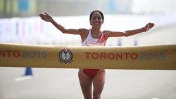 Toronto 2015: Gladys Tejeda ganó medalla de oro en la maratón