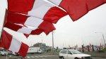 Chimbote: quienes no coloquen bandera peruana serán sancionados - Noticias de embanderamiento
