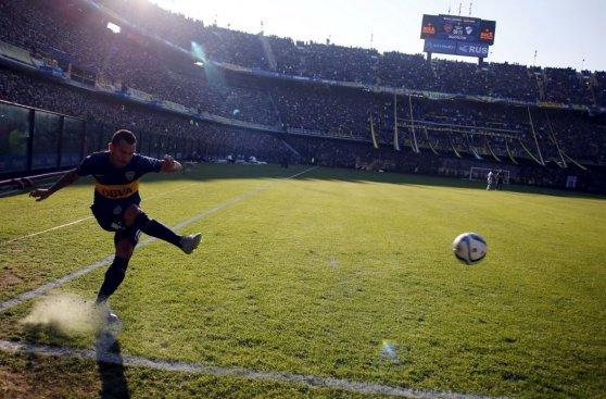 Carlos Tevez: volvió el ídolo de Boca Juniors (FOTOS)