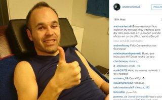 ¿Andrés Iniesta le quitó la cuenta de Instagram a su homónimo?
