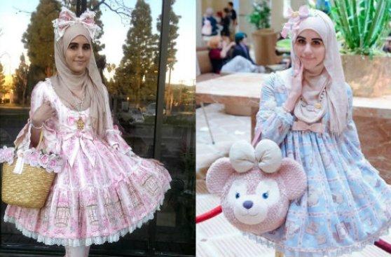 24fc4b2fc Tumblr: lolita con hiyab que quiere acabar con los estereotipos ...