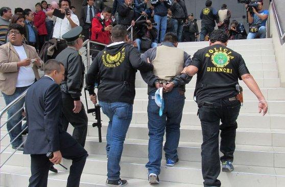 Capturan a 20 por extorsión y tráfico de armas en Chosica