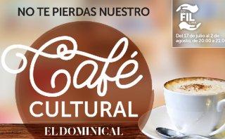 Café Cultural de El Dominical en la FIL Lima 2015