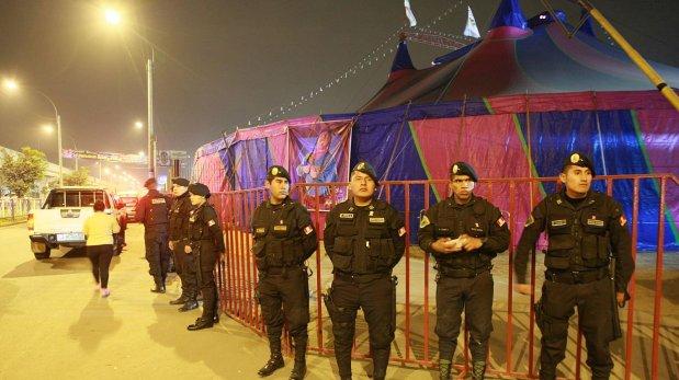 Circo de la Paisana Jacinta: tres heridos siguen internados