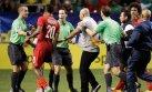 México vs. Panamá: árbitro 'huyó' así del polémico partido