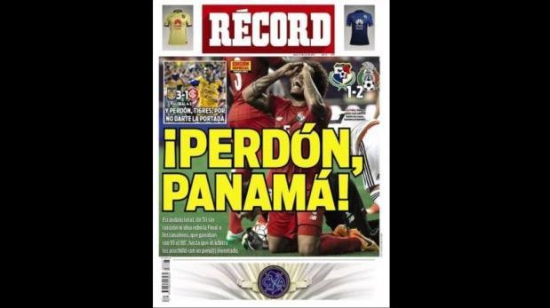"""Copa de Oro 2015: prensa mexicana pide """"perdón"""" a Panamá"""