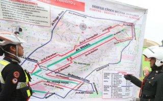 Parada Militar: estas serán las rutas alternas por el desfile