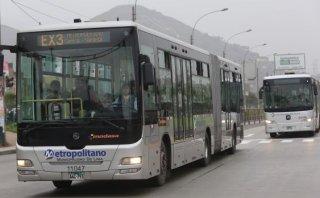 Expresos del Metropolitano no circularán por Fiestas Patrias
